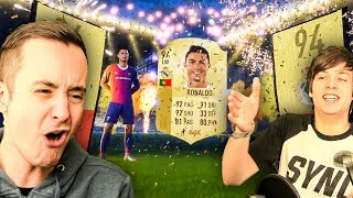 AN ACTUAL FIFA 18 PACK BEING OPENED, NO WAY!