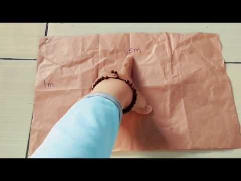 Video DIY Kaftan / how to make kaftan / cara membuat kaftan