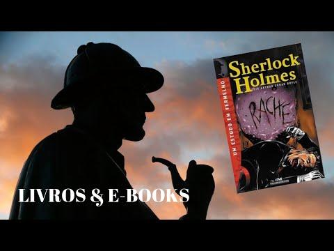 #lendosherlock UM ESTUDO EM VERMELHO - Arthur Conan Doyle