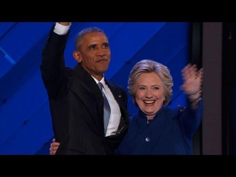 Hillary Clinton fortement soutenue par Barack Obama