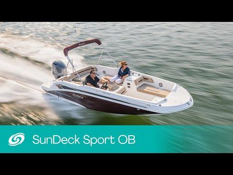 Hurricane SunDeck Sport 205 OB video