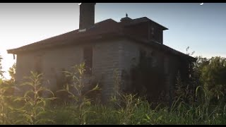 #4 Abandoned 100+ year old twin three story homes by a river