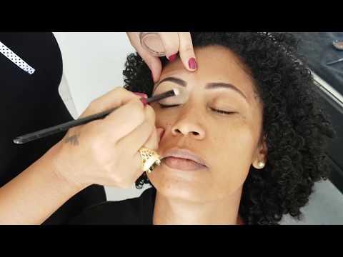maquiagem em pele negra