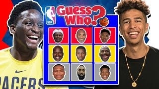 NBA Guess Who Game vs. Victor Oladipo *CRAZY ENDING*