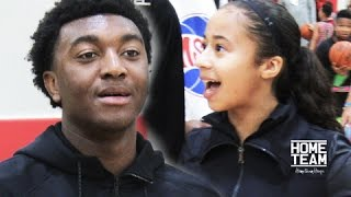 H.O.R.S.E: Kyree Walker vs Jaden Newman.. & Julian Newman Breaks Kids Ankles