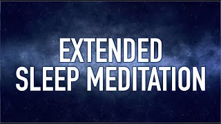 Guided Mindfulness Meditation On Sleep | ONE HOUR Extended Version For Deep Rest