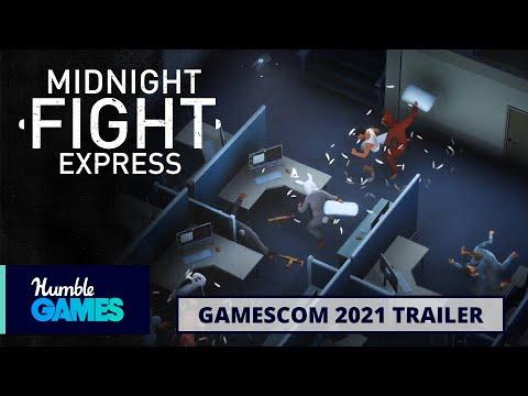 Midnight Fight Express : Vidéo d'annonce avec du gameplay