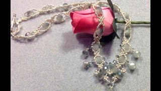 Delicate Sparkles Necklace Tutorial