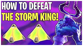 Everything You NEED To Know About Defeating The Mythic Storm King in STW | Fortnite Save The World