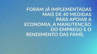 Medidas de Apoio do Governo dos Açores à Economia no âmbito da COVID-19