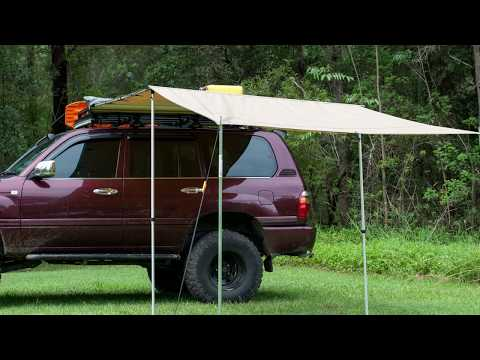 Ridge Ryder LED 4WD Awning Shade