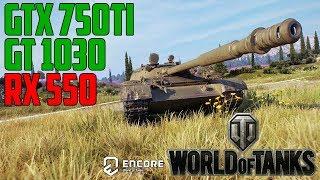 World of Tanks enCore v0.1 - GT 1030 | GTX 750 Ti | RX 550