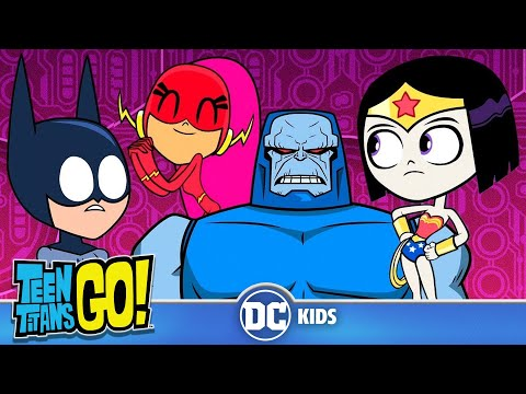 Teen Titans Go! | Teen Justice League Rescue The Justice League! | DC Kids