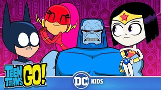 Teen Titans Go! | Teen Justice League Rescue The Justice League! | DC Kids