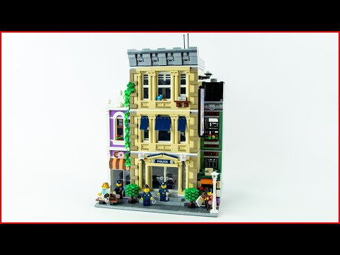 Vidéo LEGO Creator 10278 : Le Commissariat de police (Modular)