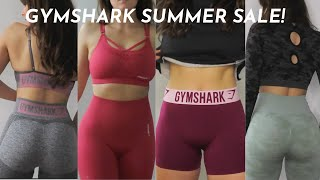 GYMSHARK TRY ON HAUL | REVIEW & SUMMER SALE!