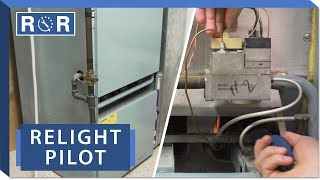 Furnace - How to Relight a Pilot Light | Repair and Replace