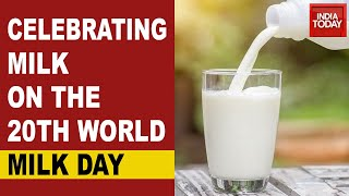 India Today Commemorates The 20th World Milk Day - Download this Video in MP3, M4A, WEBM, MP4, 3GP