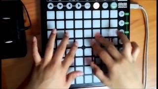 Bangarang - Skrillex(Feat. Sirah)[Launchpad Tutorial]