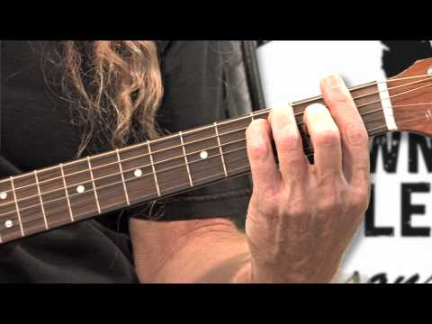 Free Guitar Lessons - Basic Chords E,F & G