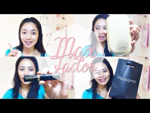 MAX FACTOR Facefinity Compact + Masterpiece Mascara Review