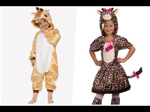 Disfraces de jirafas para niños pequeños