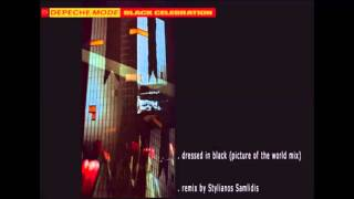 depeche mode - dressed in black (picture of the world mix)