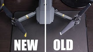 New Mavic Pro Low-Noise Propeller vs Stock Blades Propeller (Performance Test)