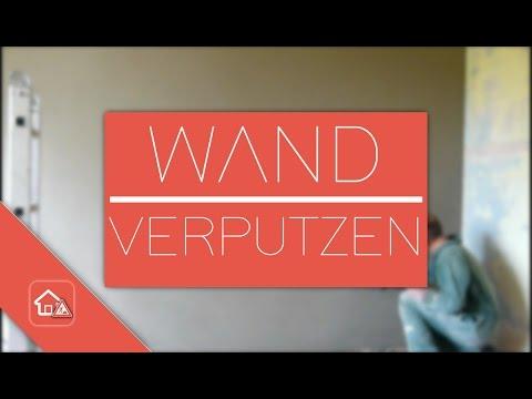 Wand Verputzen / Sanieren - Heimwerker SPEZIAL