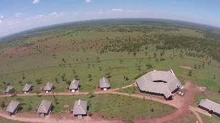 "The Kubu Kubu ""tented camp"", Serengeti"