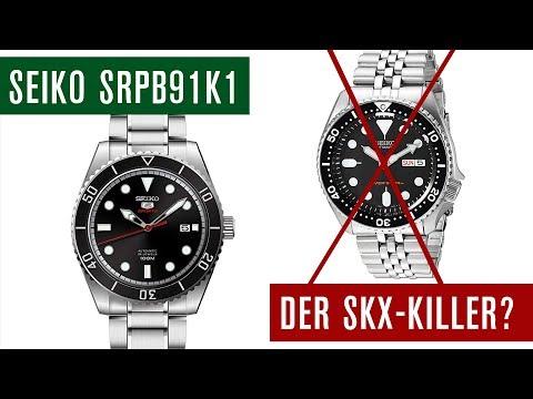 Günstiger und besser als die SKX007? Die Seiko SRPB91K1   Review   Test   Deutsch