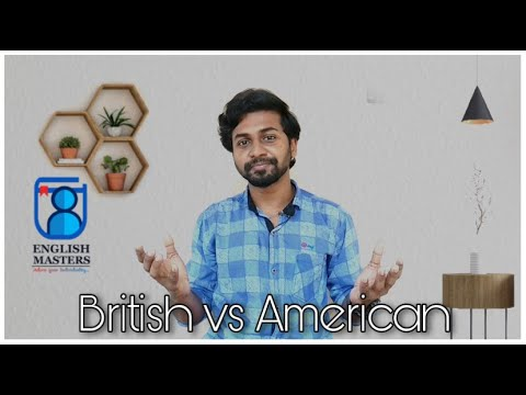 British vs American | Learn english online | English Masters