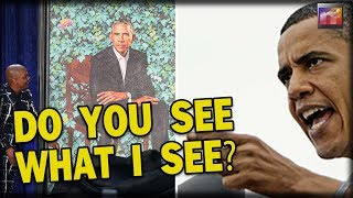 WHOA! Obama's Racist Artist Snuck Hidden SICK Sexual Detail In His Painting – Did You Spot It?