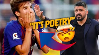 GATTUSO REACTS to RIQUI PUIG! ?