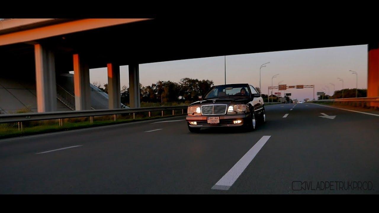 Mercedes w124: передний бампер