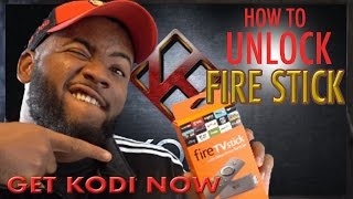 How to Unlock a FIRE STICK out the box! (2017)