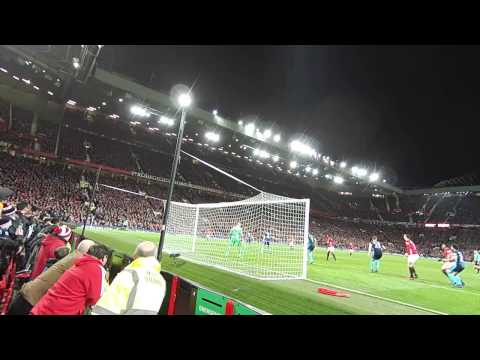Pogba winning goal vs Middlesbrough (Live fan view from Stretford End 31.12.2016)