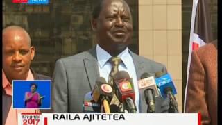 Raila Odinga akanusha kutoa matamshi ya uchochezi