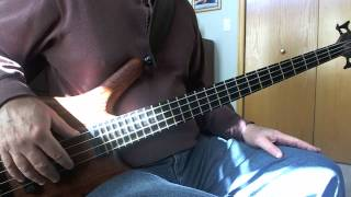 CHIC Dance Dance Dance  Yowsah, Yowsah, Yowsah  Greg Papaleo Bass Cover