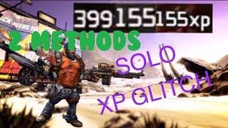 Borderlands 2 *SOLO* AFK XP Glitch (2 METHODS)