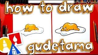 How To Draw Lazy Egg Gudetama 🍳