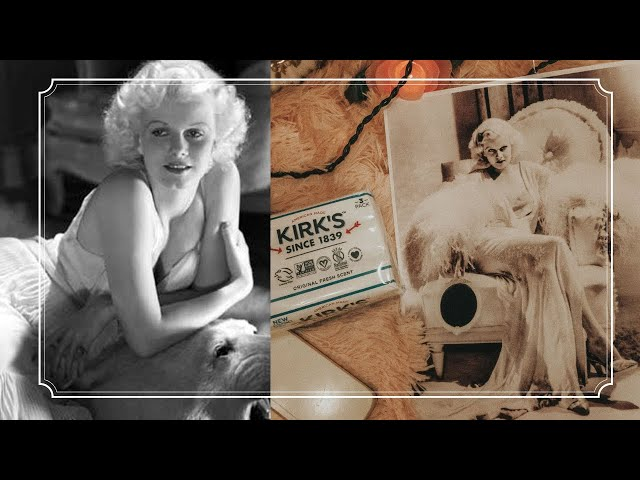 Jean Harlow's Favorite Beauty Products you can still buy today