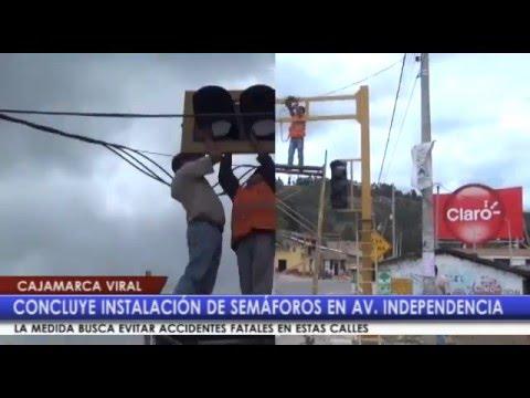 Semáforos en Av. Independencia ayudarán a evitar accidentes