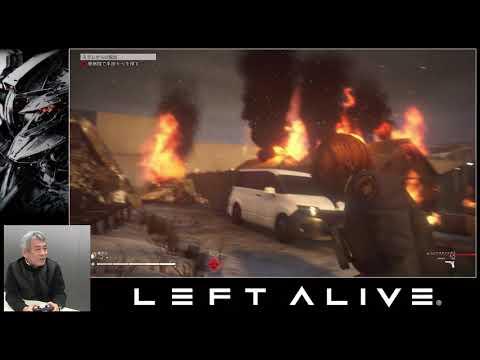 8 minutes de gameplay avec Shinji Hashimoto  de Left Alive