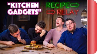 KITCHEN GADGETS Recipe Relay Challenge | Pass It On S2 E4