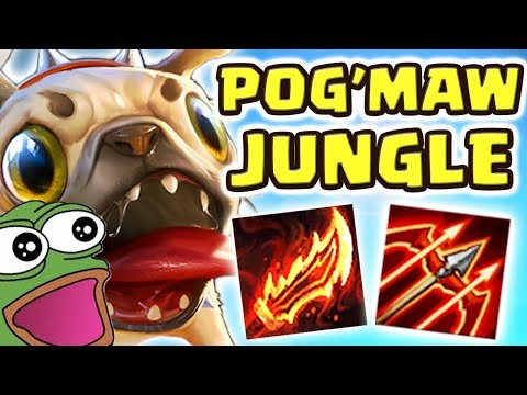 KOG&#39MAW JUNGLE IS ACTUALLY BROKEN!!! MY TEAM WANTED TO SURRENDER IN CHAMP SELECT.. DAMAGE IS INSANE