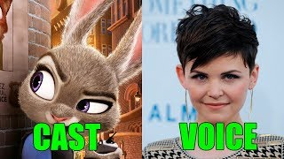 Zootopia Voice Actors and Characters