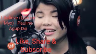 I Believe   Pauline Agupitan Performs (Fantasia) LIVE Wish107. Bus HQ