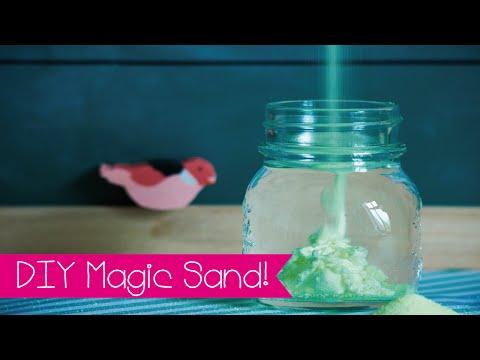DIY | MAGIC SAND SELBER MACHEN I AQUA SAND I MAGISCHER SAND