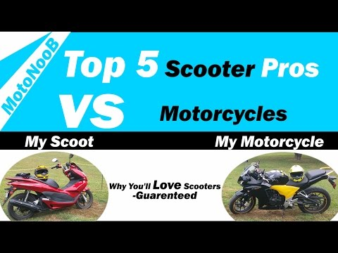 Scooter vs Motorcycle | Top 5 Scooter Pros | Honda PCX 150 Review
